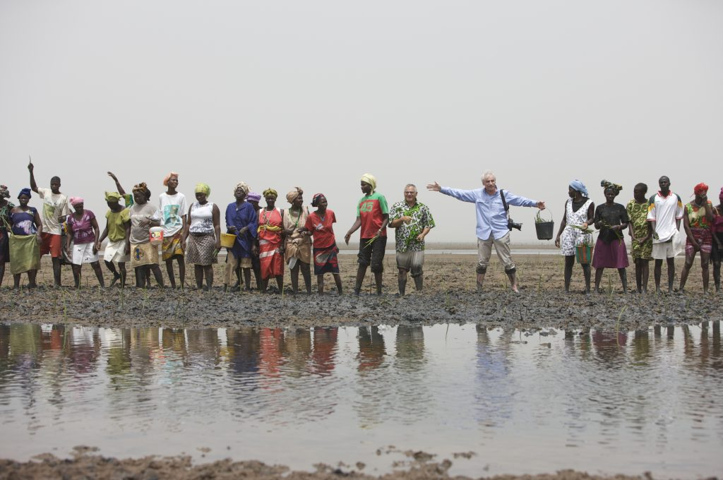 Yann Arthus Bertrand en Afrique