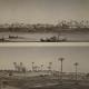 Rives du Nil lors de l'exploitation du Coton en Egypte