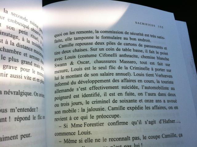 """Livre """"Sacrifices"""" de Pierre Lemaitre chez Albin Michel"""