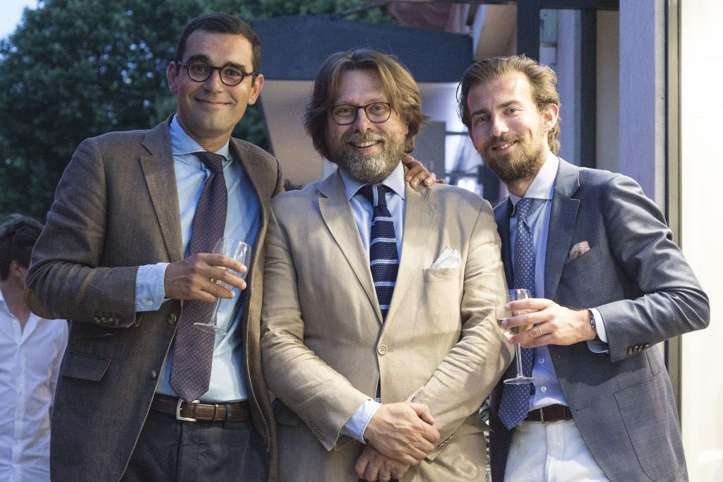 Vincent, Thierry et Thibault