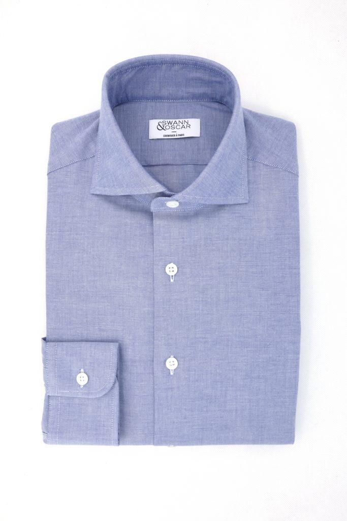 chemise en chambray par swann et oscar