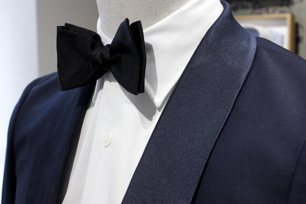 smoking swann et oscar chemise blanche