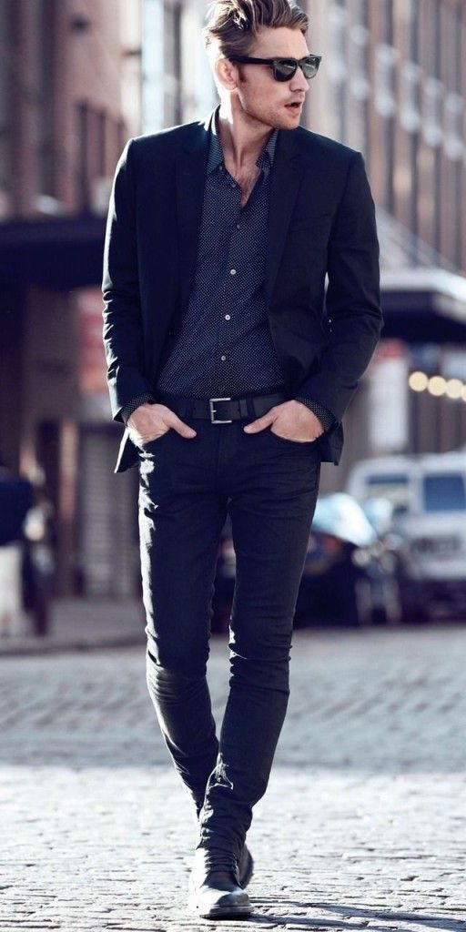 streetsyle chemise foncée