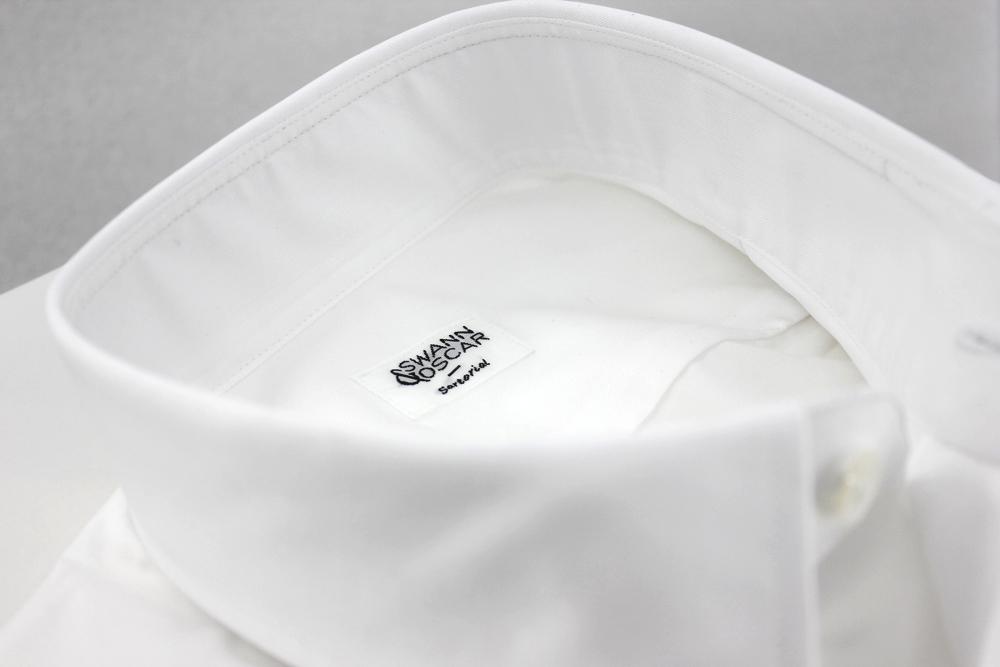 Col chemise blanche parfaite