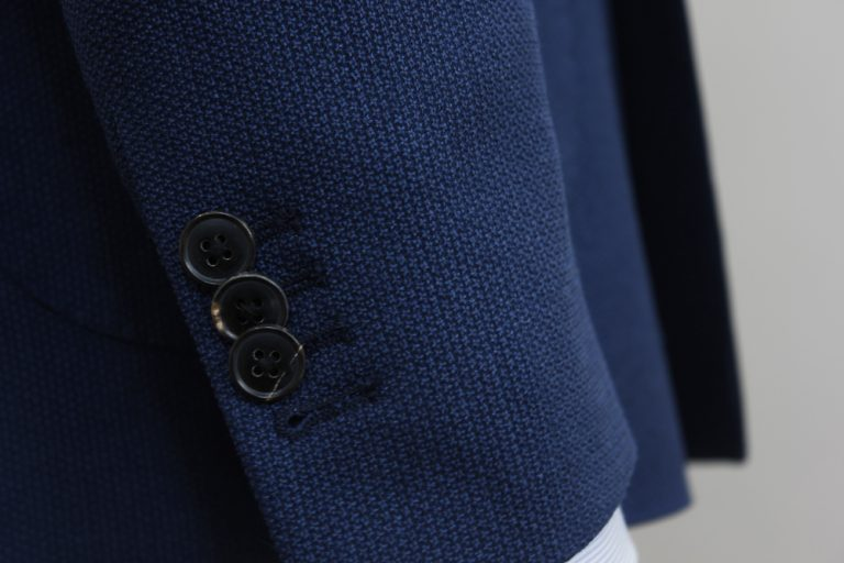 Details boutons manche Veste