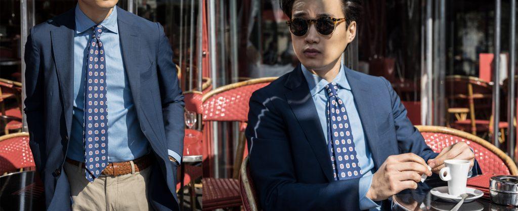 tenue formelle chemise denim