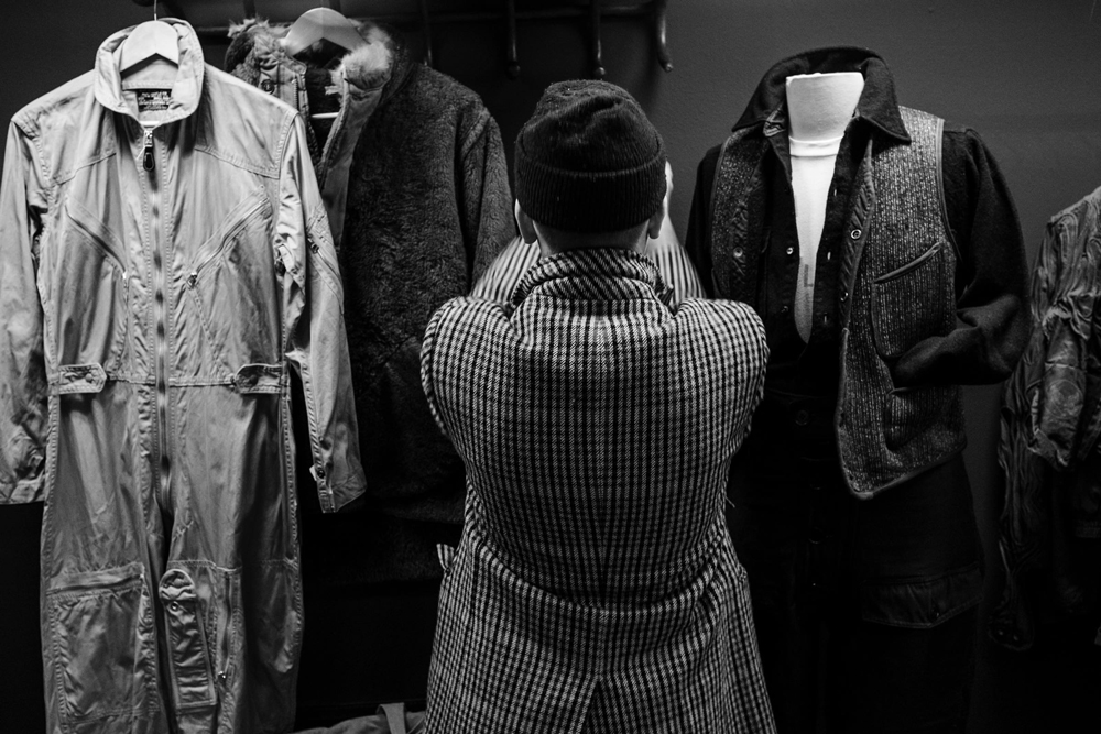 showroom vintage for fashion