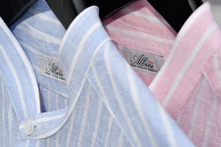 Chemises en lin Albini