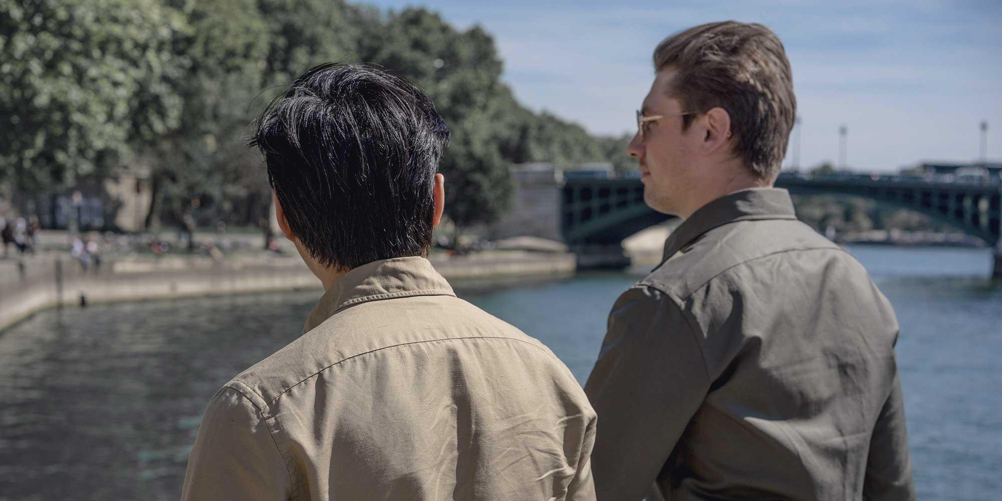 La chemise safari par Swann et Oscar