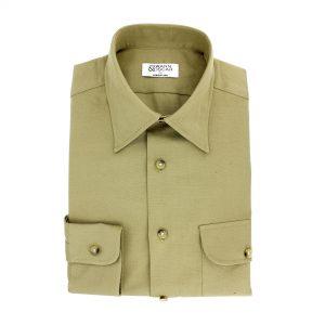 chemise-safari-kaki-col-classique