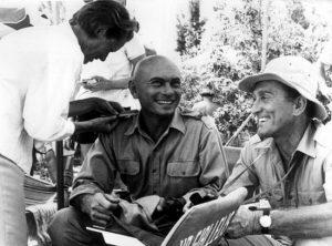 Yul Brynner et Kirk Douglas