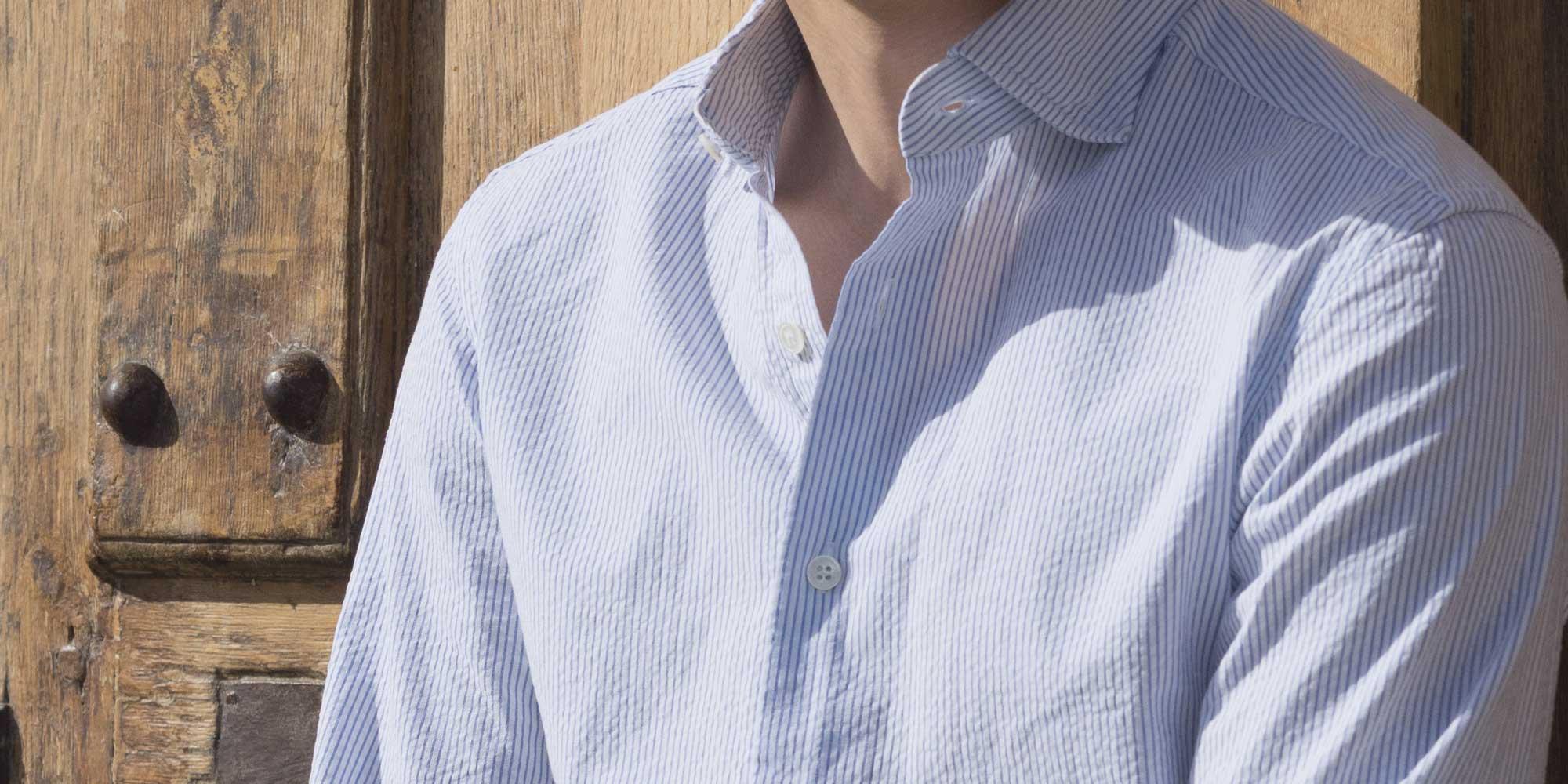 La chemise en seersucker