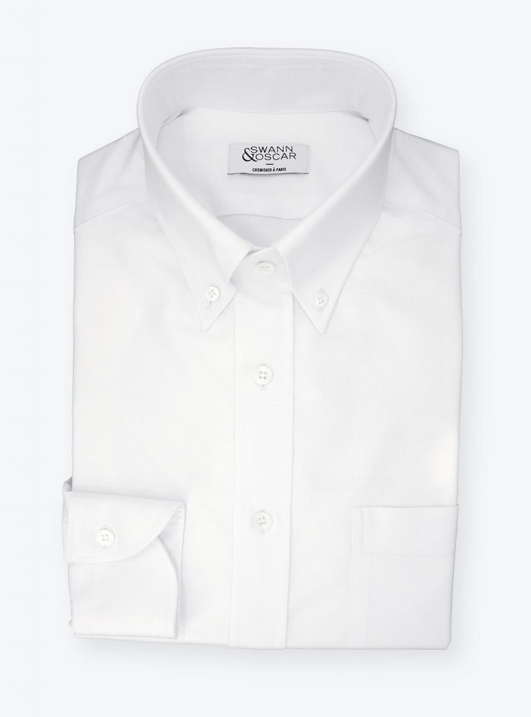 Chemise Oxford Blanche CH079870