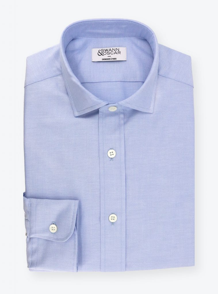 Chemise Oxford Bleue CH079871
