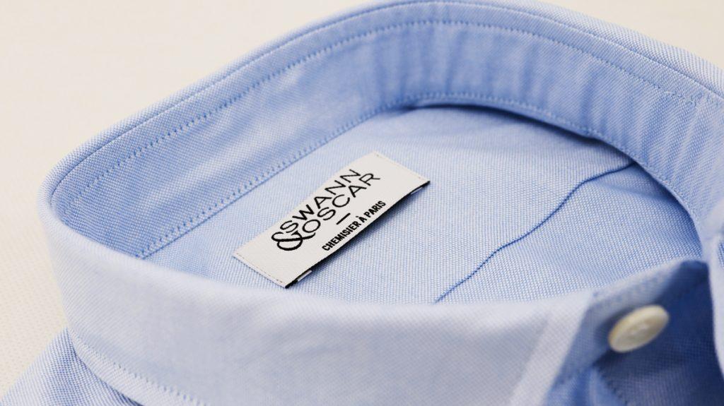 chemise-oxford-bleu