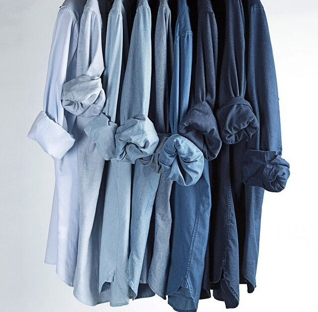 chemises en chambray