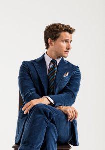 corduroy suit Drakes