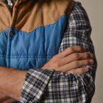 lookbook carreaux flanelle noir et bleu 3