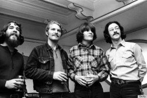 Photo of Doug CLIFFORD - Tom FOGERTY - John FOGERTY - Stu COOK - CREEDENCE CLEARWATER REVIVAL