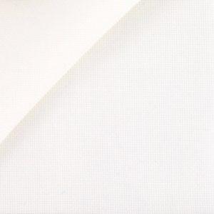 coton oxford blanc casse