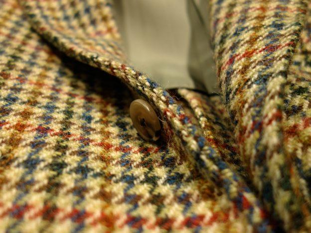 boutonnage veste