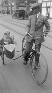 cycling tweed suit