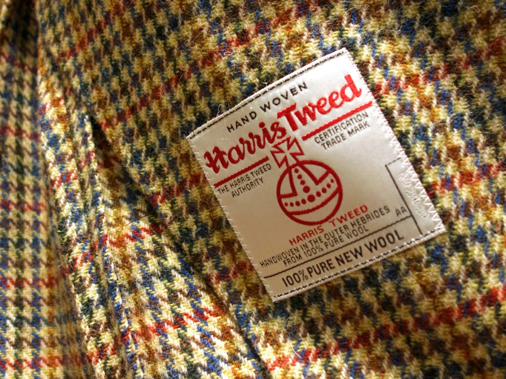 etiquette harris tweed