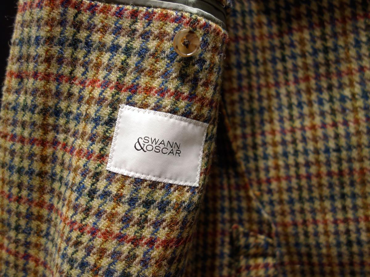 une veste en tweed et une chemise coton laine journal. Black Bedroom Furniture Sets. Home Design Ideas