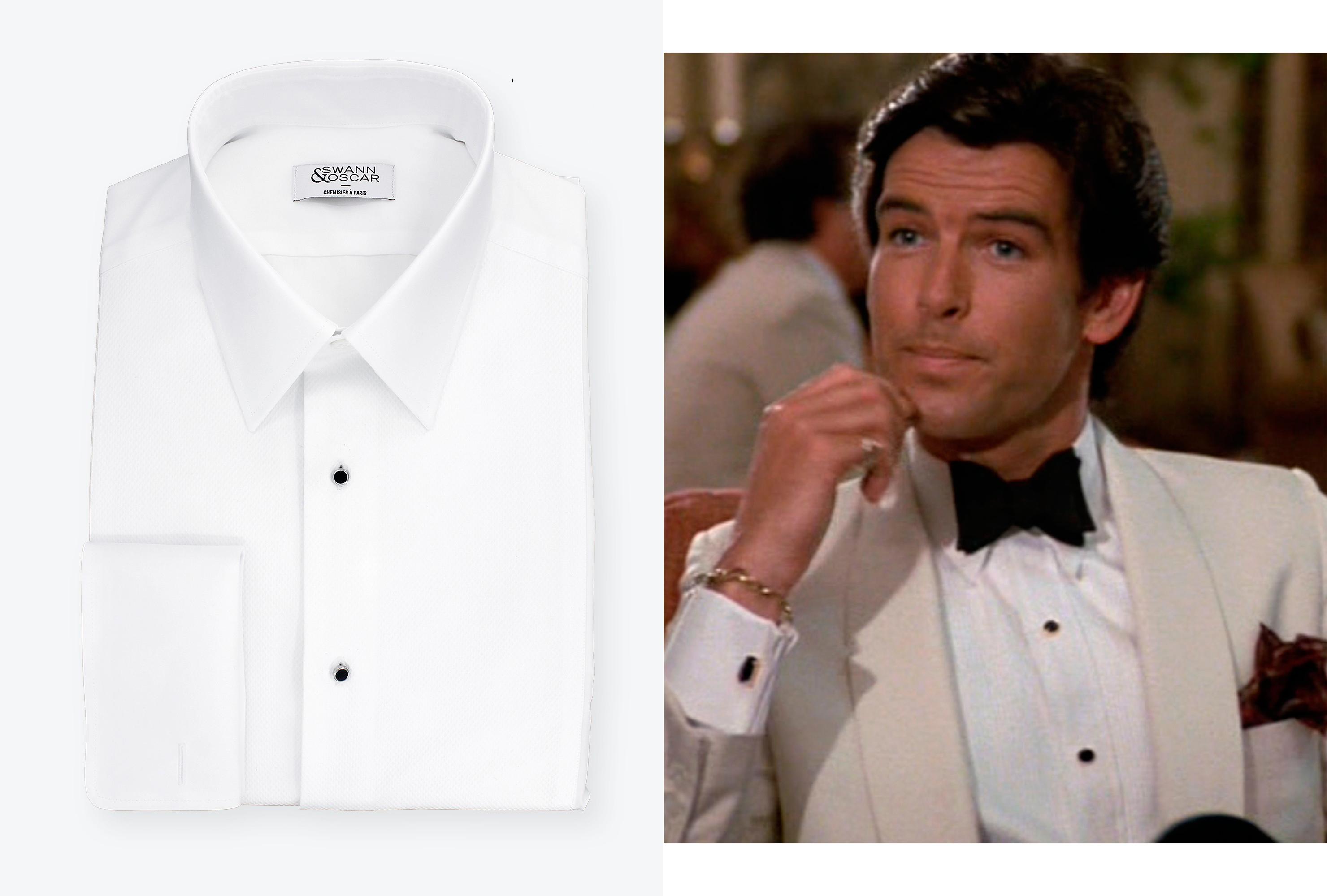 Vous êtes invité à un mariage   Un cocktail ou bien une soirée black-tie    Dans tous les cas, vous avez envie de sortir votre nœud papillon et cette  chemise ... 1bff44c672b