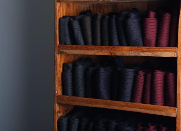 Elégant jusqu'au bout des pieds… les chaussettes Swann
