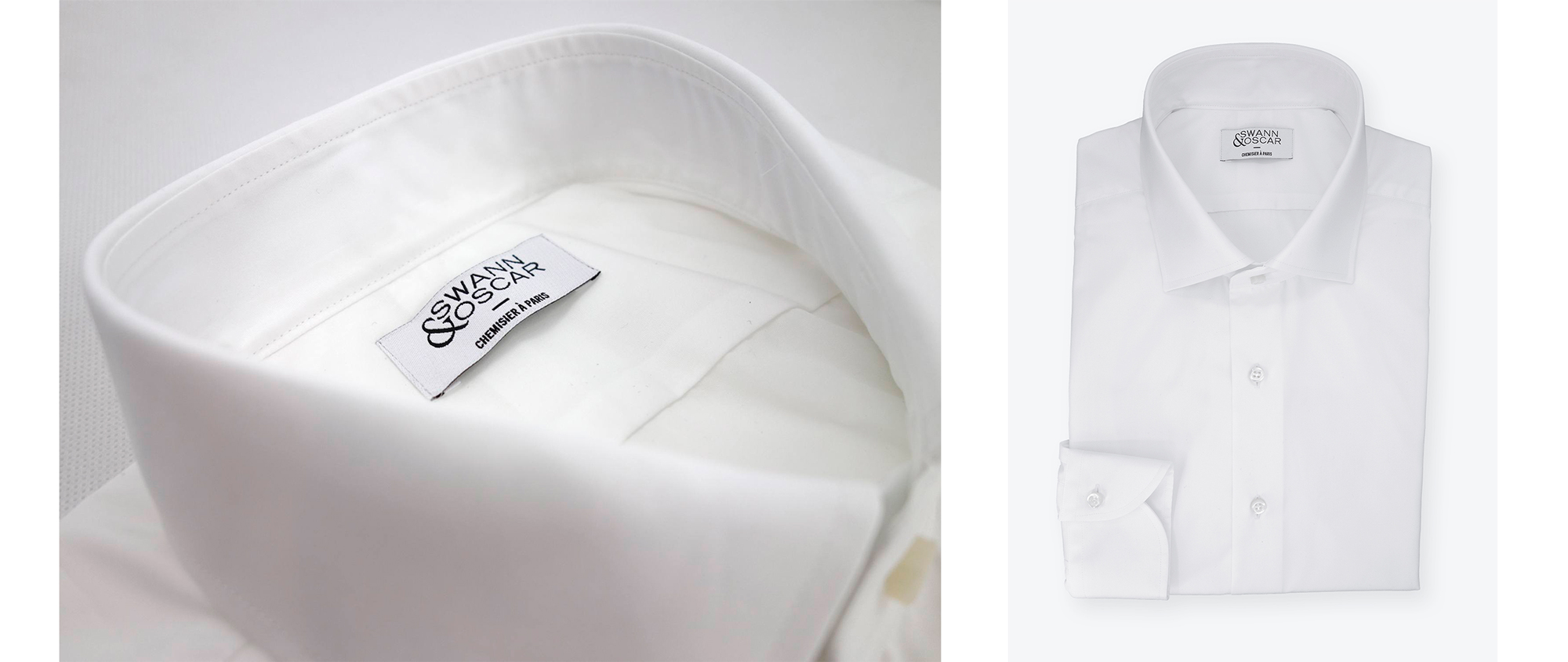 chemise popeline blanche
