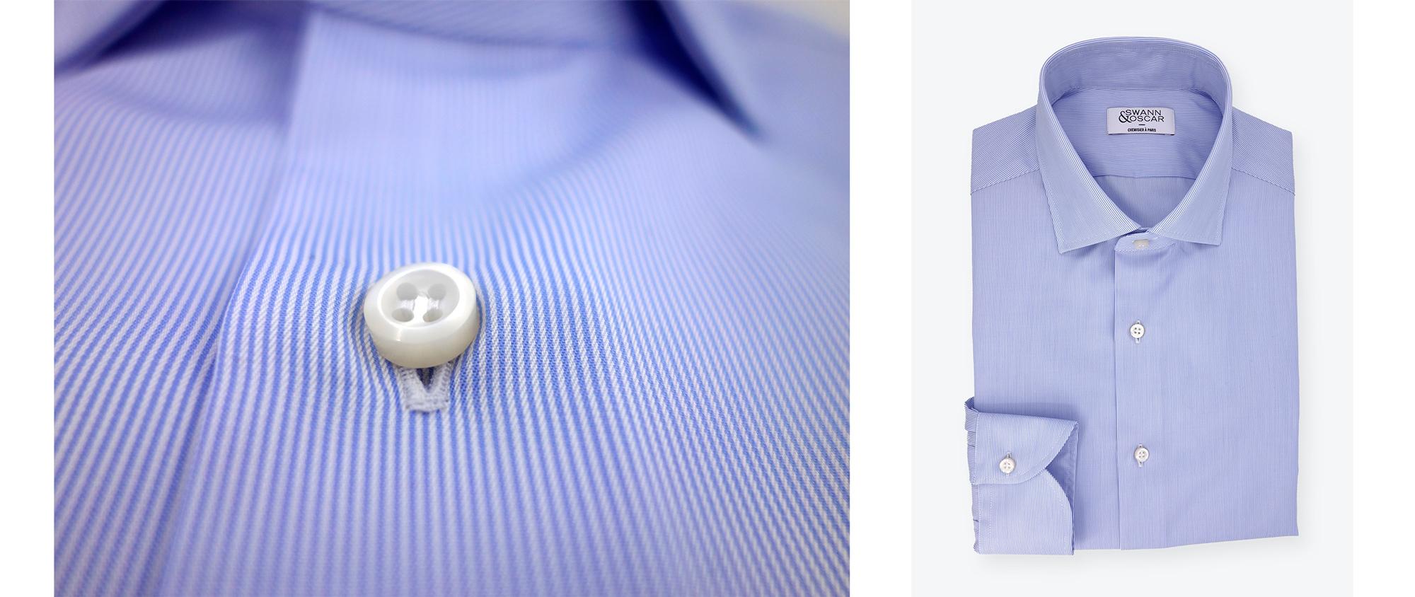 chemise-twill-rayé-bleu-facile-a-repasser