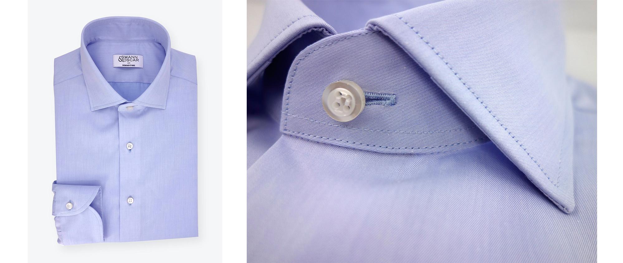 chemise-twill-uni-bleu-facile-a-repasser