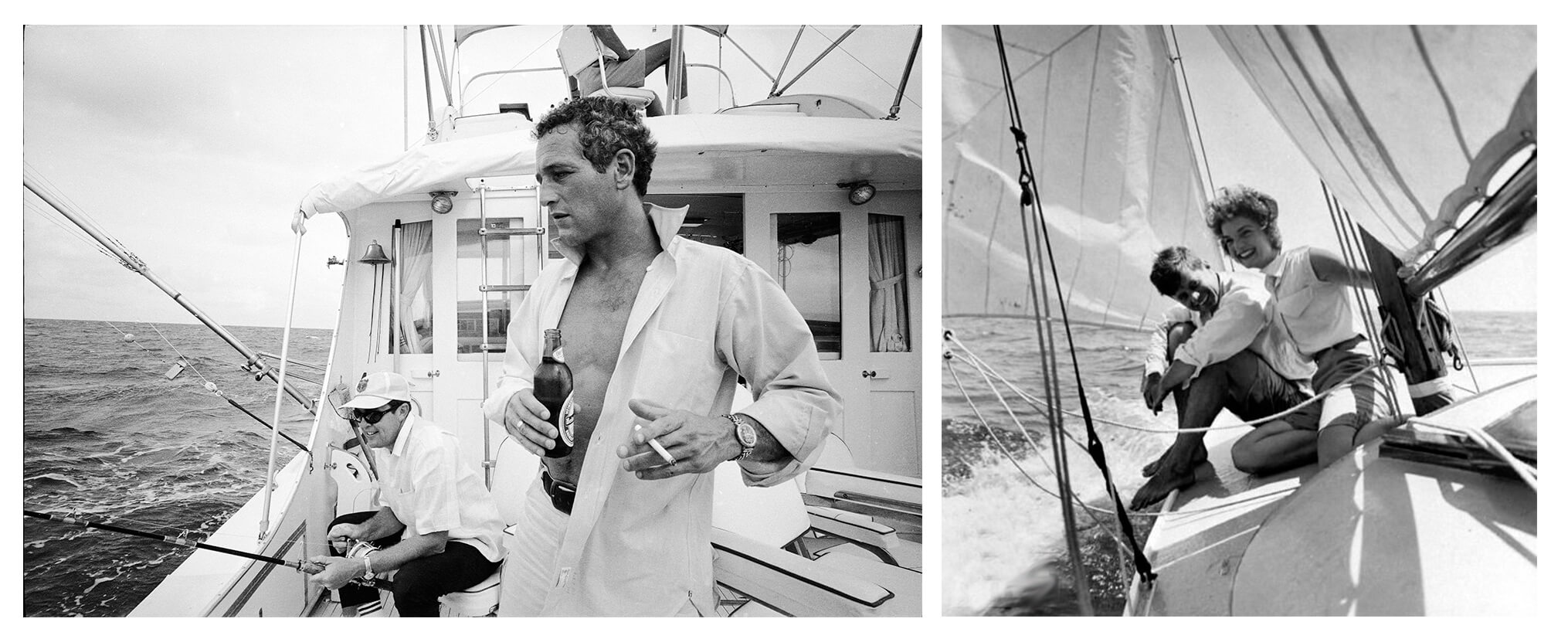 Inspirations John Jackie Kennedy et Paul Newman Voilier