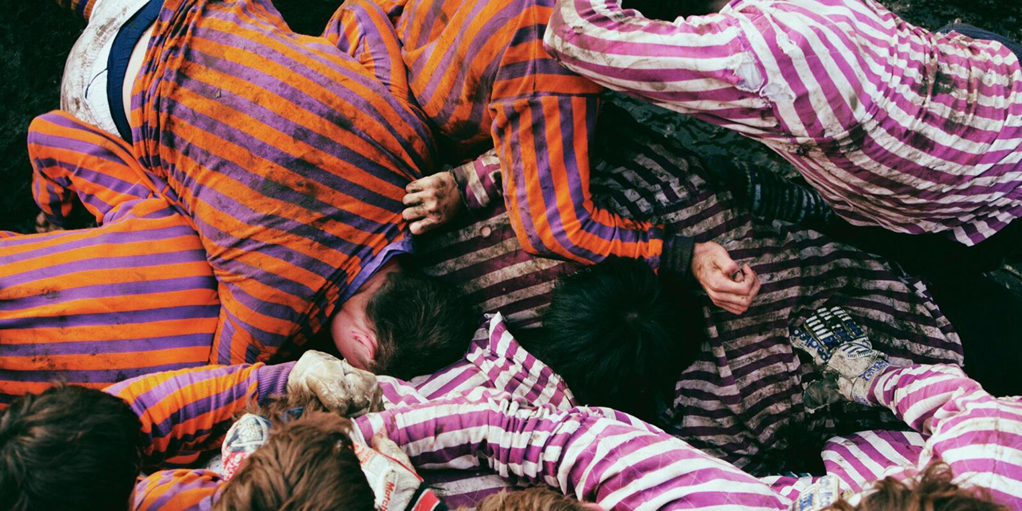 Butcher stripes... des chemises en lin aux rayures colorées