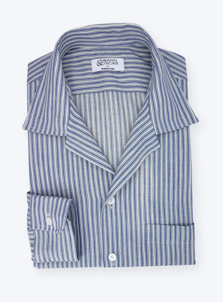 Chemise camp collar ch089333
