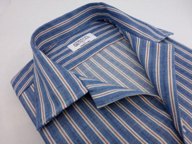 chemise denim a col ouvert