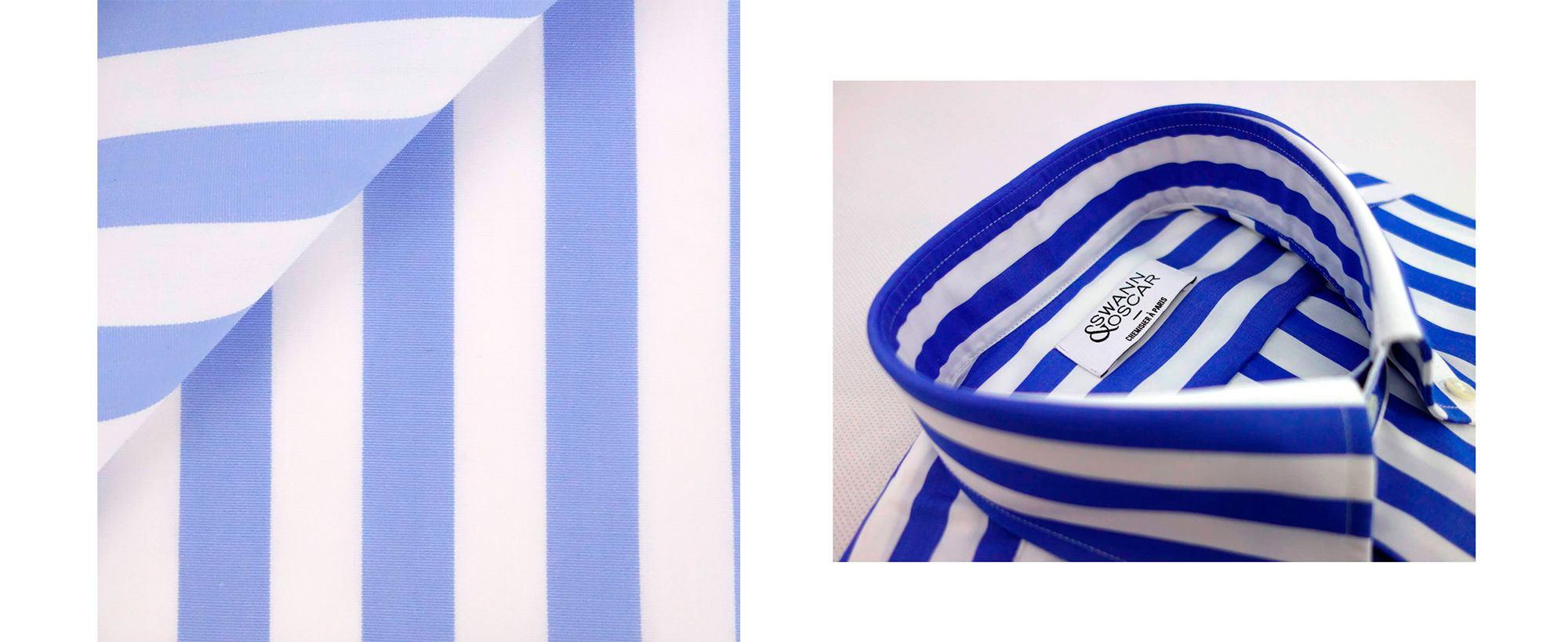 chemise-popeline-bleu-large-rayures