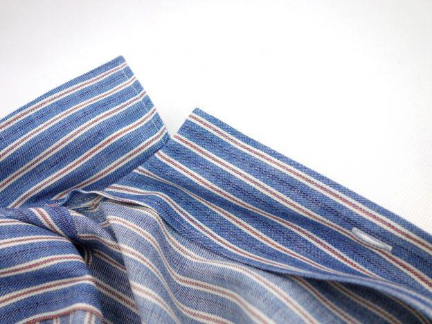 interieur de la gorge chemise camp collar
