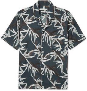 print bowling shirt