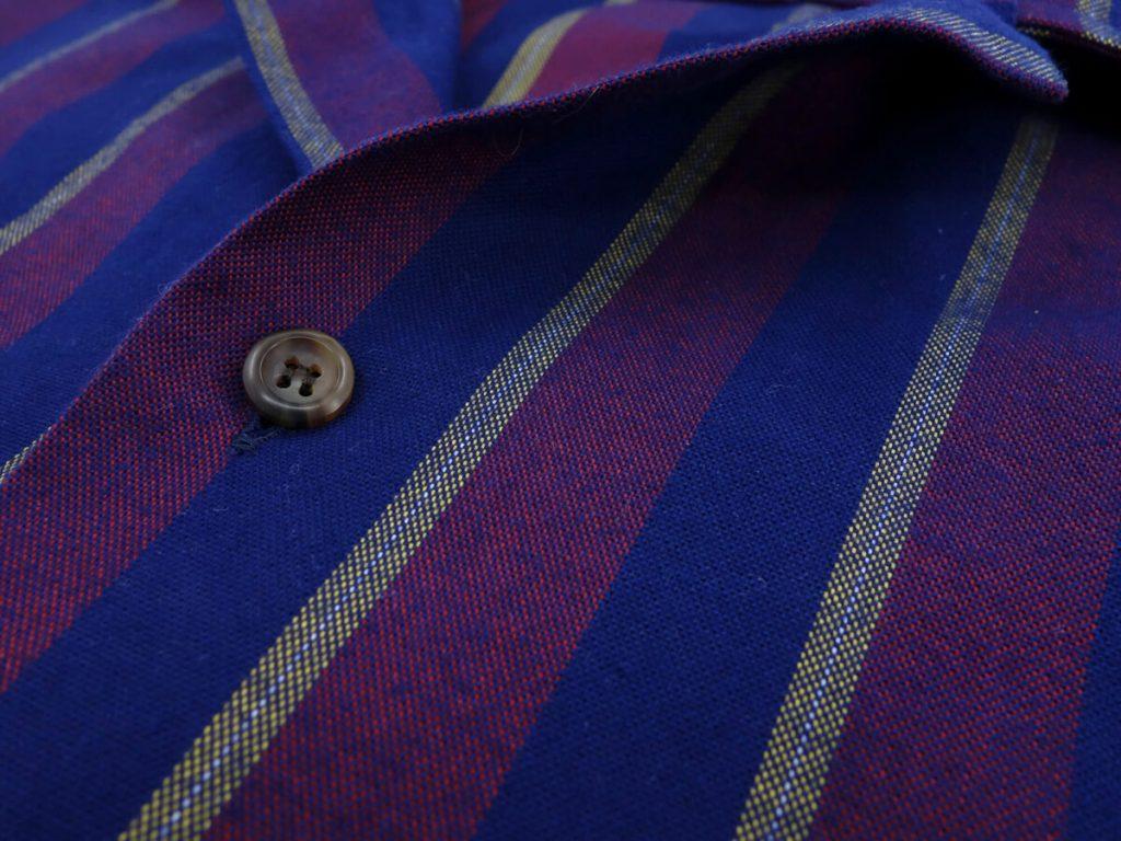 details tissu chemise albini swann et oscar
