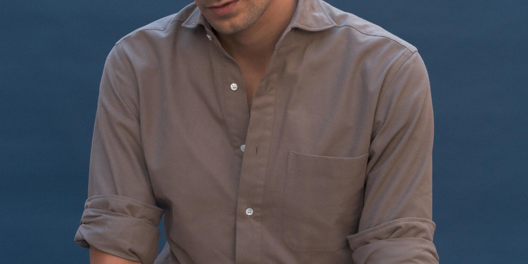 La chemise popover en flanelle