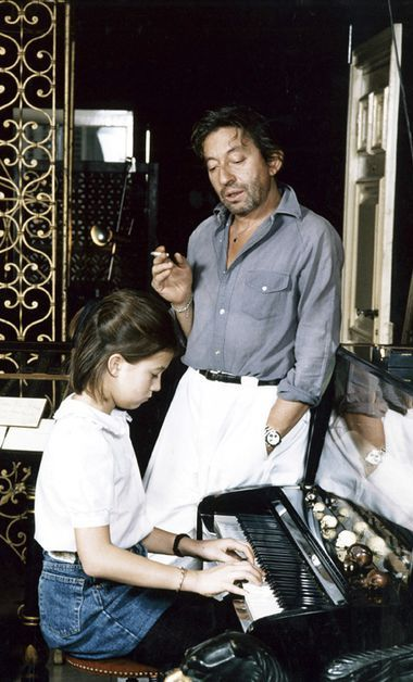 chemise en chambray serge gainsbourg
