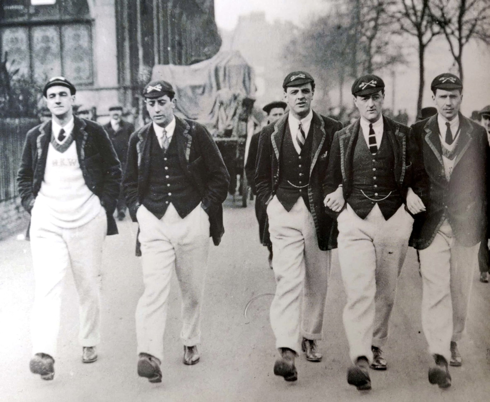 historie rowing blazer
