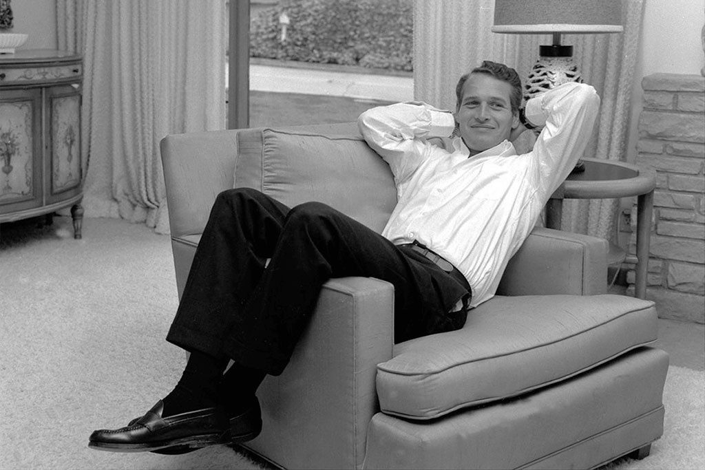 Paul Newman with moc